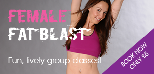 Female Fat Blast Group Fitness Classes